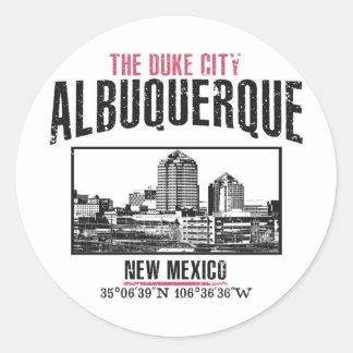 Albuquerque Classic Round Sticker