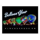 Albuquerque Hot Air  Balloon Glow Postcard