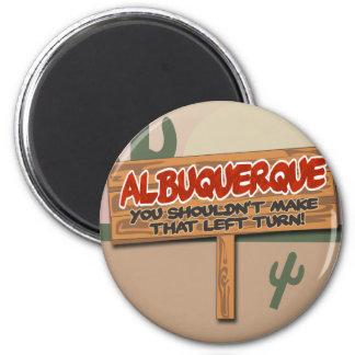 Albuquerque Left Magnet