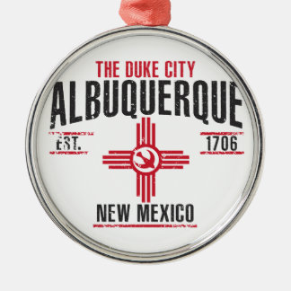 Albuquerque Metal Ornament