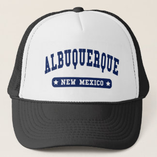 Albuquerque New Mexico College Style t shirts Trucker Hat