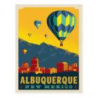 Albuquerque, New Mexico | Hot Air Balloons Postcard