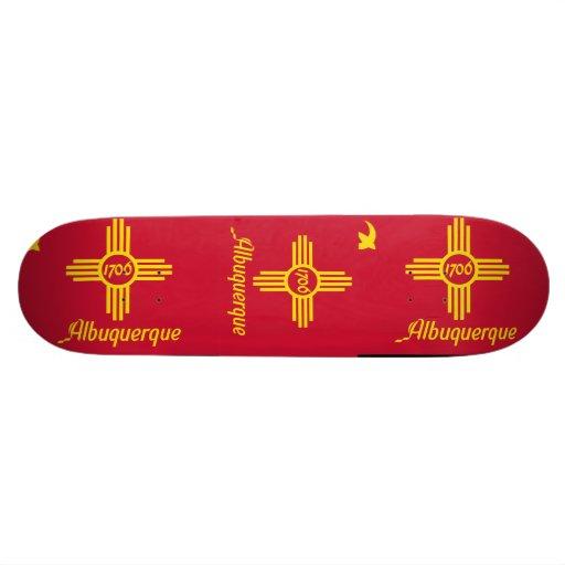 Albuquerque, New Mexico Custom Skate Board
