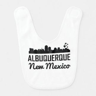 Albuquerque New Mexico Skyline Bib