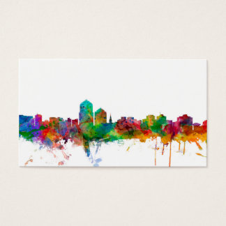 Albuquerque New Mexico Skyline Business Card