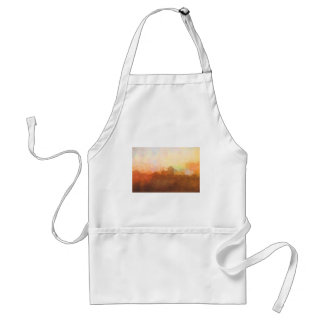 Albuquerque New Mexico Skyline IN CLOUDS Standard Apron