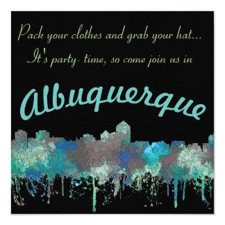 ALBUQUERQUE, NM SKYLINE - SG JUNGLE - Invitations