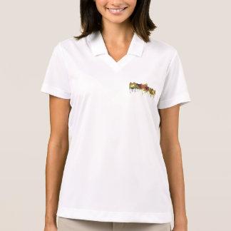 Albuquerque, NM Skyline - SG - Safari Buff Polo Shirt