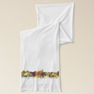 Albuquerque, NM Skyline - SG - Safari Buff Scarf