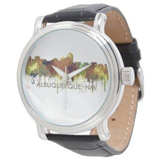 Albuquerque, NM Skyline - SG - Safari Buff Watch