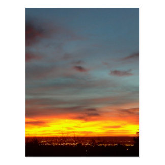 Albuquerque Sunset Postcard