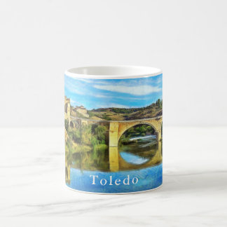Alcantara Bridge in Toledo. Coffee Mug
