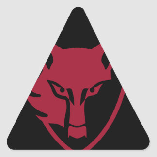 Alcateiacrew adhesive triangle sticker