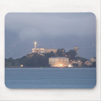 Alcatraz at Dawn Mouse Pad
