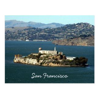 alcatraz bay postcard