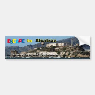 Alcatraz Bumper Sticker
