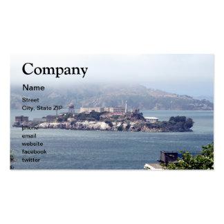 Alcatraz Business Cards
