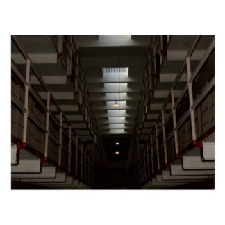 Alcatraz Cell Block - Upper Level Postcard