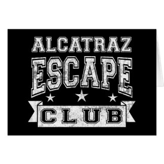 Alcatraz Escape Club Card