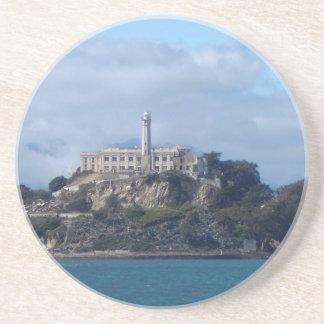 Alcatraz Island Beverage Coaster