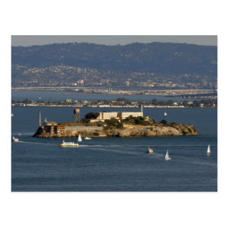 Alcatraz Island in San Francisco  Bay Area Postcard