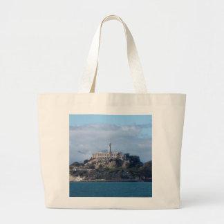 Alcatraz Island Large Tote Bag