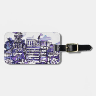 ALCATRAZ ISLAND LUGGAGE TAG