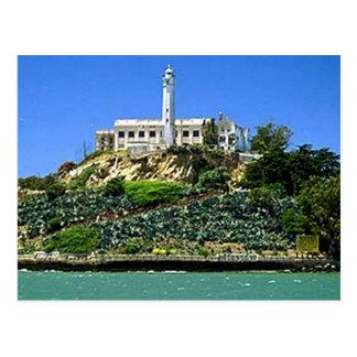 Alcatraz Island Postcard