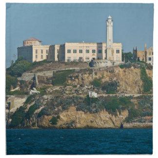 Alcatraz Island Prison San Francisco Bay Cloth Napkins