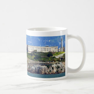 Alcatraz Island Prison San Francisco Panorama Coffee Mug