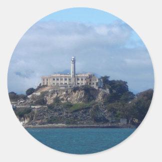 Alcatraz Island Round Sticker