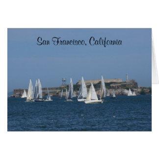 Alcatraz Island – San Francisco #4 Poster Card
