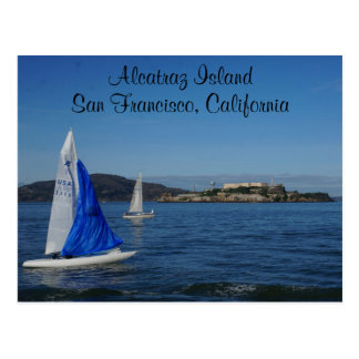 Alcatraz Island – San Francisco #5 Postcard