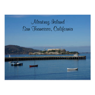 Alcatraz Island – San Francisco #6 Postcard