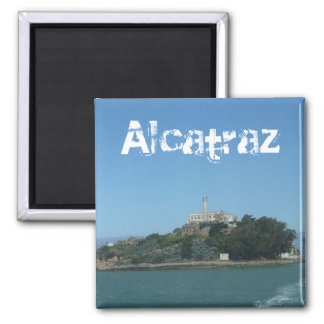 Alcatraz Island San Francisco Photo Magnet Prison