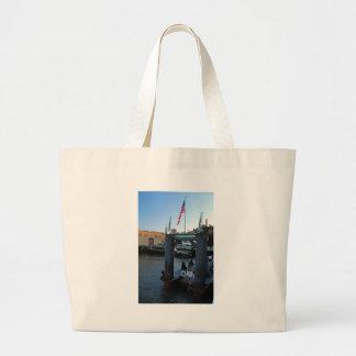 Alcatraz Landing Large Tote Bag