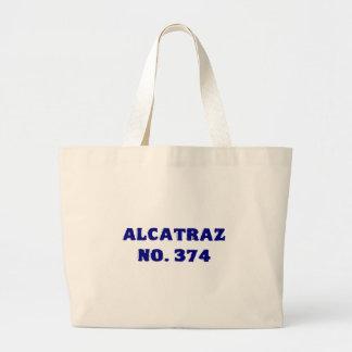 Alcatraz No. 374 Large Tote Bag