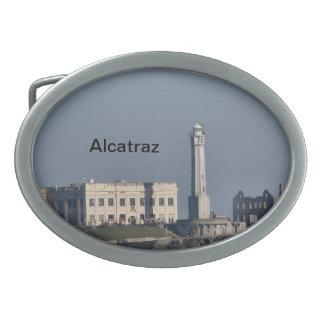 Alcatraz Oval Belt Buckles