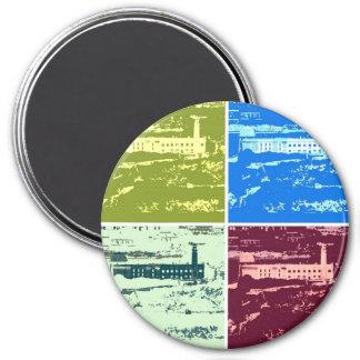 Alcatraz Pop art Magnet