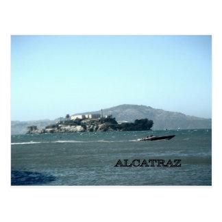 Alcatraz prison postcard