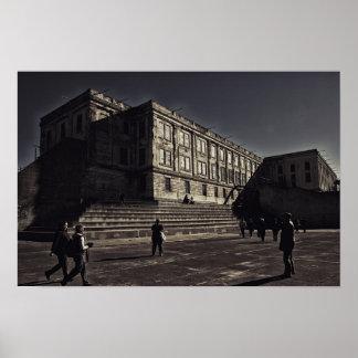 Alcatraz Prison Poster