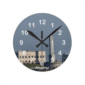 Alcatraz Prison Wall Clock