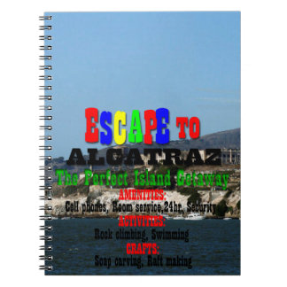 Alcatraz Spiral Note Book