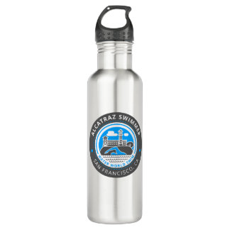 Alcatraz Swimmer stainless steel bottle