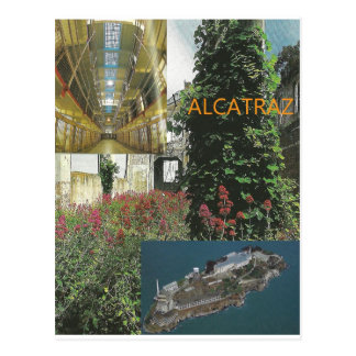 Alcatraz Tour Item Postcard