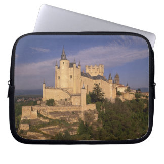 Alcazar and Cathedral, Segovia, Castile Leon, Computer Sleeves