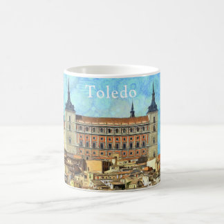 Alcazar Castle in Toledo Coffee Mug