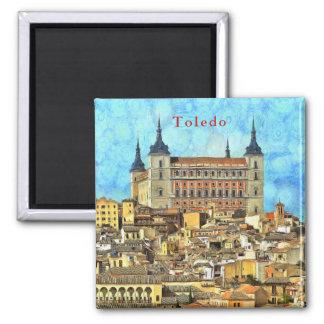Alcazar Castle in Toledo. Magnet