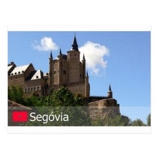 Alcazar de Segóvia, Espanha Postcard