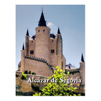 Alcázar de Segovia Postcard